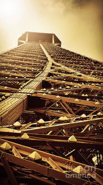 Photograph - Eiffel Tower Top by Patricia Awapara
