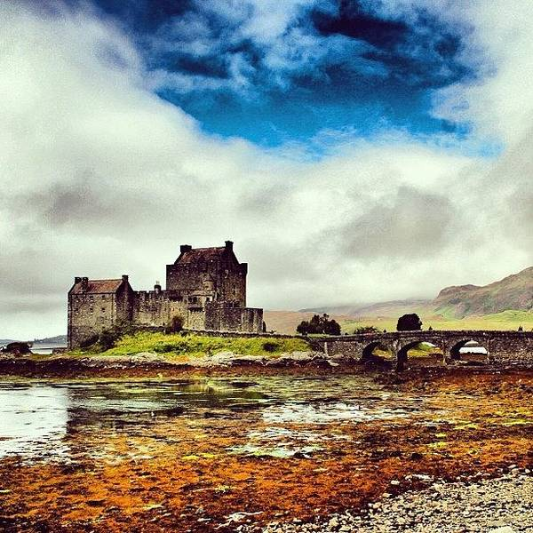 Fantasy Wall Art - Photograph - Eilean Donan Castle - Scotland by Luisa Azzolini