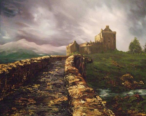 Eilean Donan Castle Painting - Eilean Donan Castle Scotland by Jean Walker