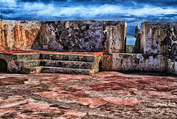 Sentry Box Photograph - El Morro Fortress Old San Juan by Thomas R Fletcher