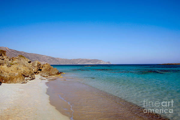 Photograph - Elafonissos Beach by Paul Cowan