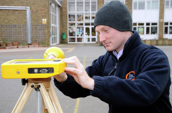 Public Health Photograph - Electromagnetic Radiation Monitoring by Public Health England