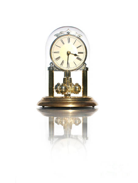 Minute Photograph - Elegant Clock by Jorgo Photography - Wall Art Gallery