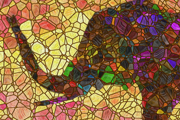 Wall Art - Painting - Elephant 2 - Happened At The Zoo by Jack Zulli