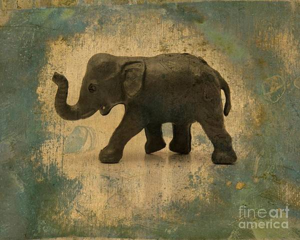 Wall Art - Photograph - Elephant Figurine by Bernard Jaubert