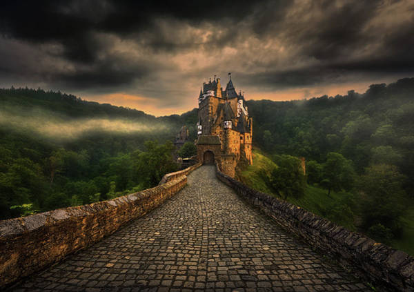 Pavement Wall Art - Photograph - Eltz... by Krzysztof Browko