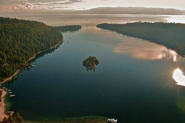 Photograph - Emerald Bay Lake Tahoe by Steven Lapkin