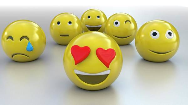 Smiley Face Wall Art - Photograph - Emojis by Christian Darkin
