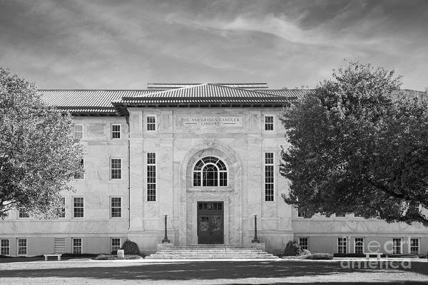 Photograph - Emory University Candler Library by University Icons