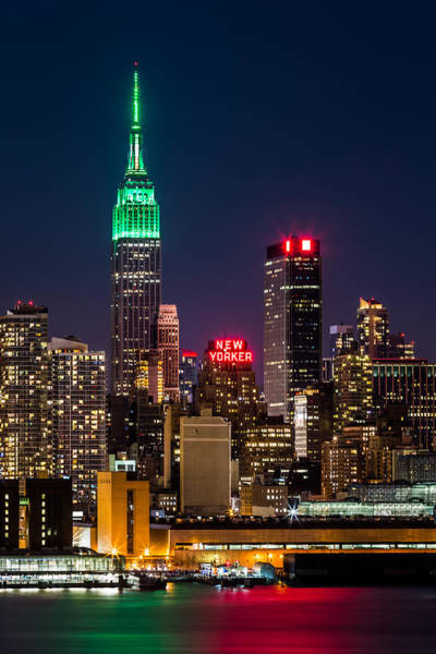 Photograph - Empire State Building On Saint Patrick's Day by Mihai Andritoiu