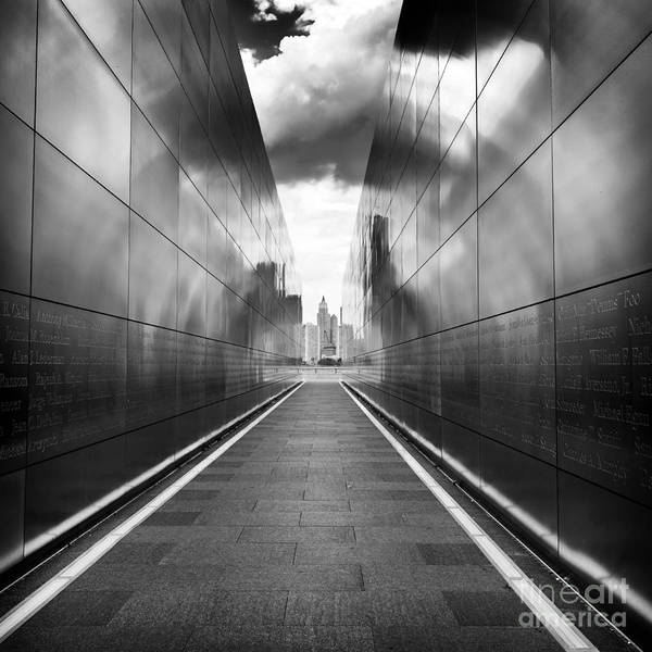 Photograph - Empty Sky 911 Memorial by John Rizzuto