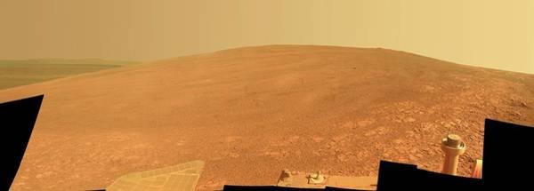 Endeavour Photograph - Endeavour Crater by Nasa/jpl-caltech/cornell/asu