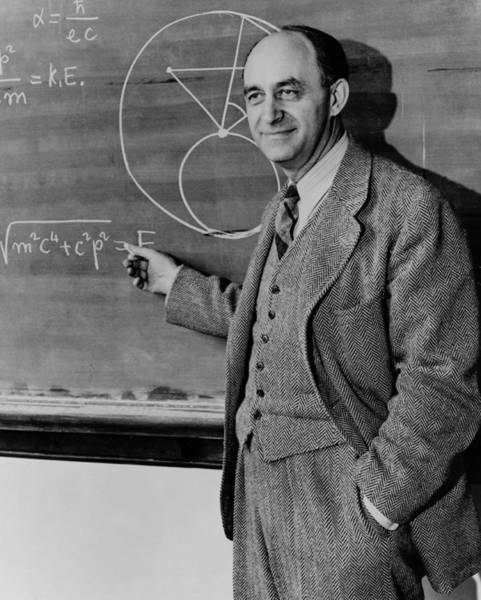 Wall Art - Photograph - Enrico Fermi by American Institute Of Physics/science Photo Library