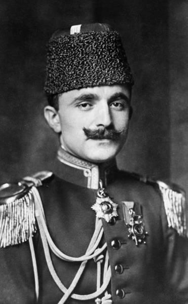 Epaulette Photograph - Enver Pasha (1881?-1922) by Granger