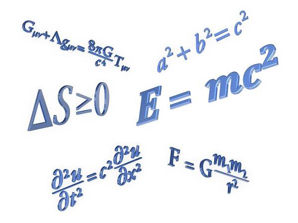 Equation Wall Art - Photograph - Equations by Alfred Pasieka