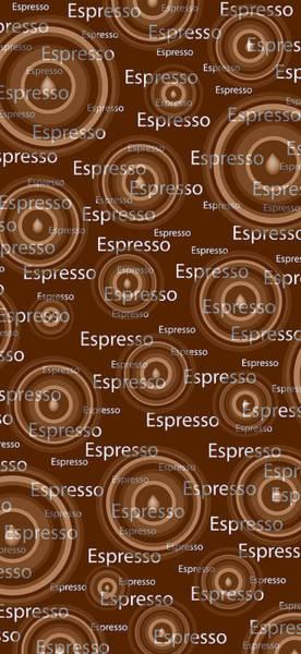 Mocha Painting - Espresso by Frank Tschakert