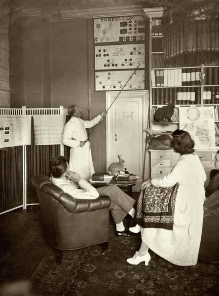 Inheritance Wall Art - Photograph - Eugenics Lecture by American Philosophical Society