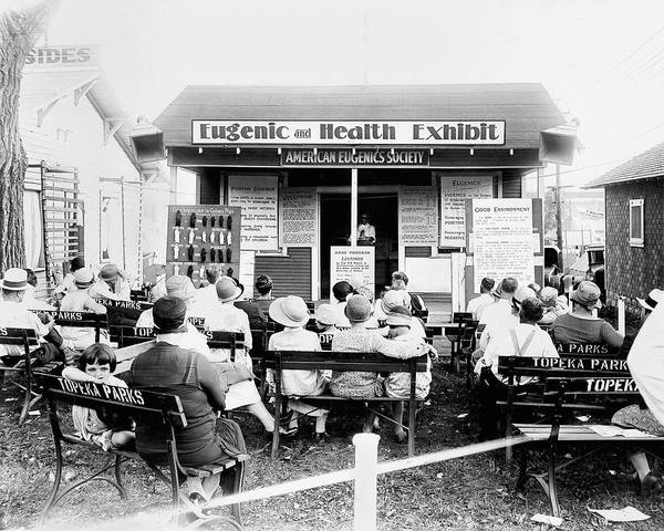 Public Health Photograph - Eugenics Lecture At Public Fair by American Philosophical Society