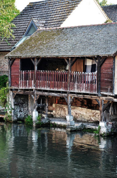 Wall Art - Photograph - Eure River And Old Fulling Mills In Chartres by RicardMN Photography