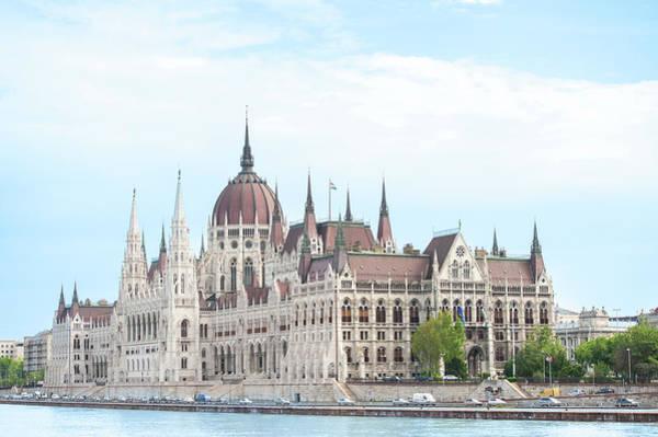Danube Photograph - Europe, Hungary, Budapest, Parliament by Jim Engelbrecht