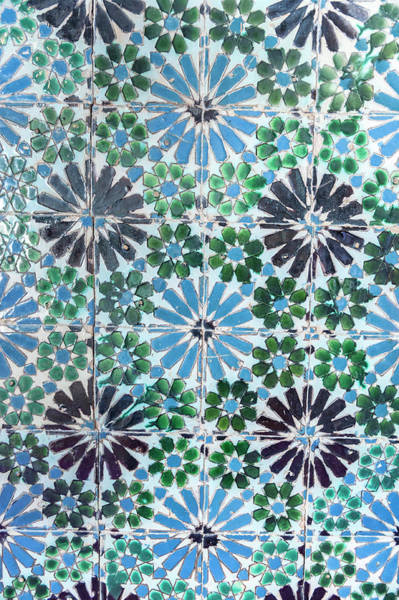 Glazed Tiles Photograph - Europe, Portugal, Sintra, Sintra by Lisa S. Engelbrecht