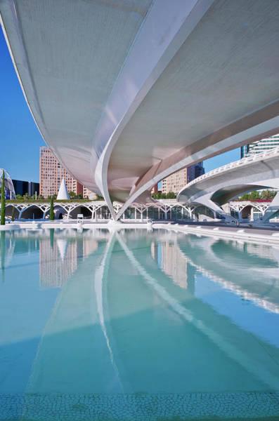 Arte Photograph - Europe, Spain, Valencia, City Of Arts by Rob Tilley