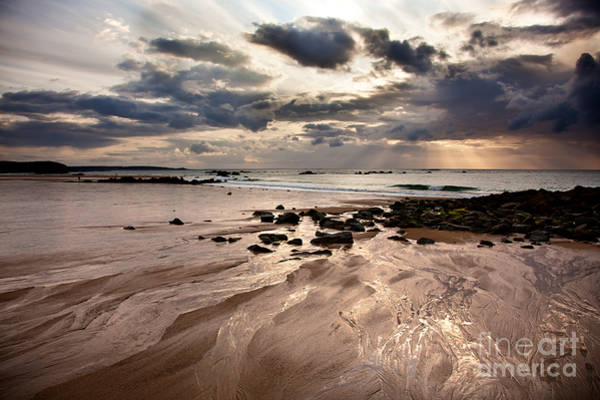 Sandy Beach Photograph - Evening At The Sea by Nailia Schwarz