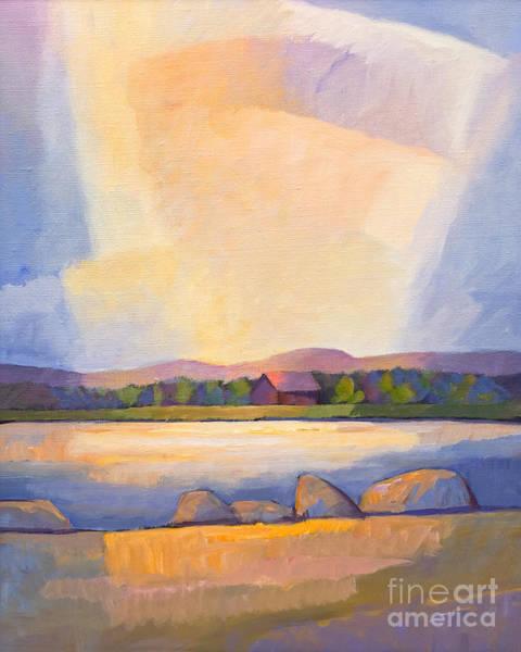 Painting - Evening Light by Lutz Baar
