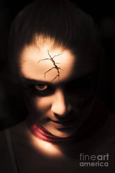 Dark Skin Photograph - Evil by Jorgo Photography - Wall Art Gallery