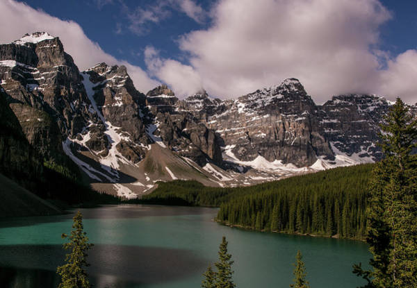 Moraine Lake Photograph - Exploring Canadas Banff National Park by George Rose