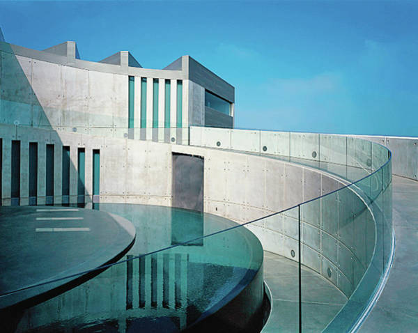 Curve Photograph - Exterior Of Modern Building by Erhard Pfeiffer
