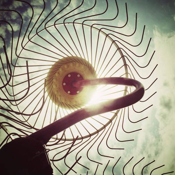 Hay Rake Photograph - Eye Harvest by Natasha Marco