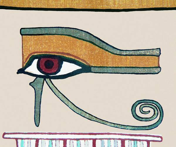 Wall Art - Photograph - Eye Of Horus by Sheila Terry/science Photo Library