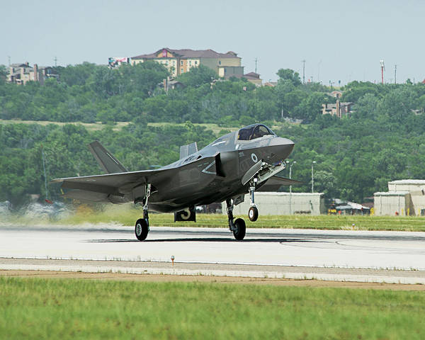 Fort Worth Photograph - F-35b Fighter Jet by Us Defense