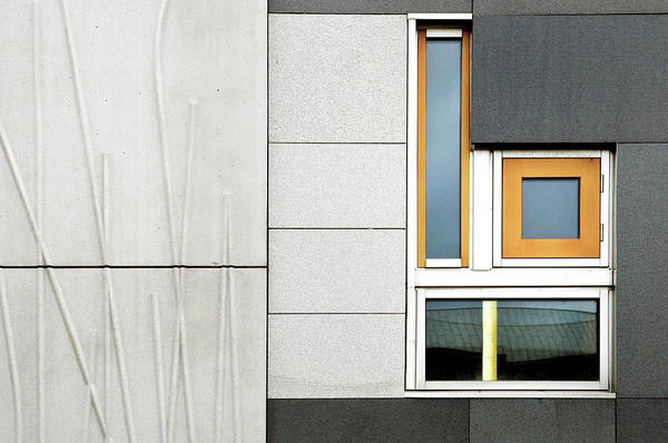 Wall Art - Photograph - Facade Geometry by Linda Wride