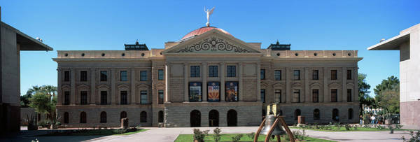 Maricopa Photograph - Facade Of The Arizona State Capitol by Panoramic Images