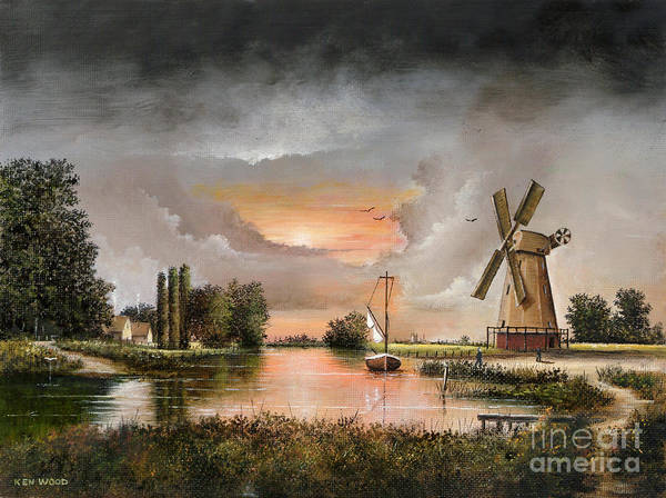 Fairhaven Mill Art Print