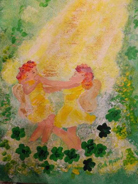 Wall Art - Painting - Fairies Dancing by Rich Mason