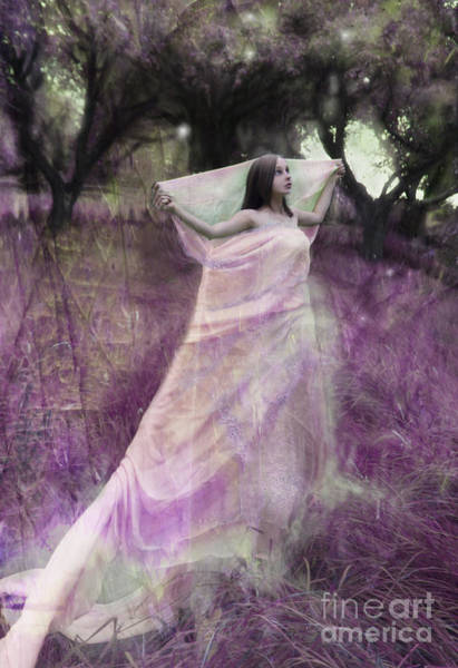 Wall Art - Photograph - Fairy In The Orchard by Angel Ciesniarska