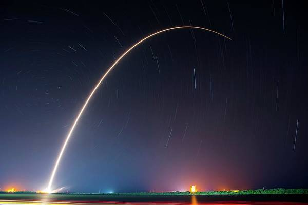 Wall Art - Photograph - Falcon 9 Rocket Launch By Spacex by Spacex/science Photo Library
