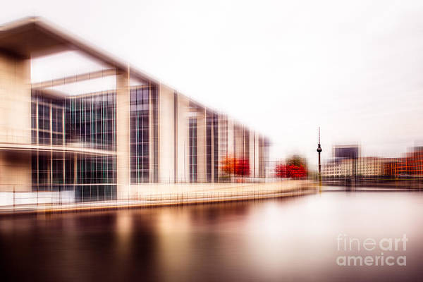 Crisscross Wall Art - Photograph - Fall In The City by Hannes Cmarits