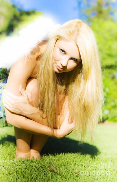 Guardian-angel Photograph - Fallen Angel by Jorgo Photography - Wall Art Gallery