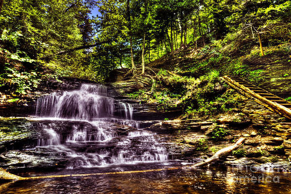 Wall Art - Photograph - Falls And Steps by Paul W Faust -  Impressions of Light