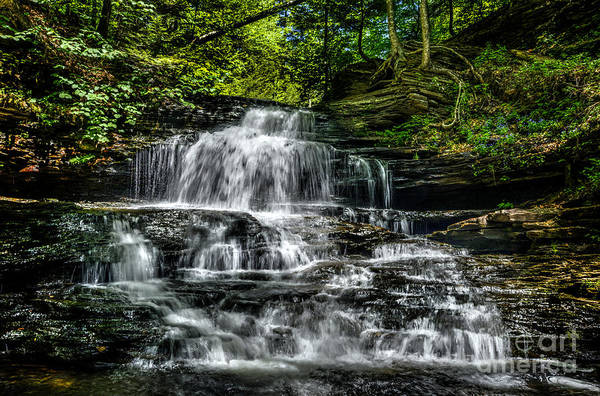 Wall Art - Photograph - Falls by Paul W Faust -  Impressions of Light