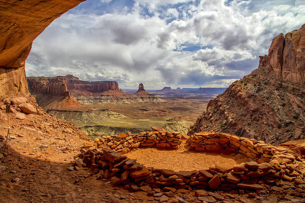 Photograph - False Kiva by Jim Dollar