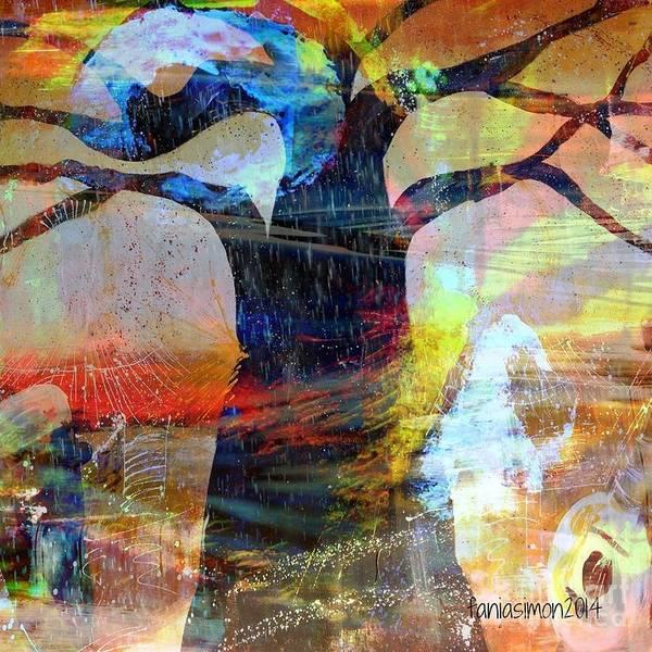 Wall Art - Mixed Media - Family Connection by Fania Simon