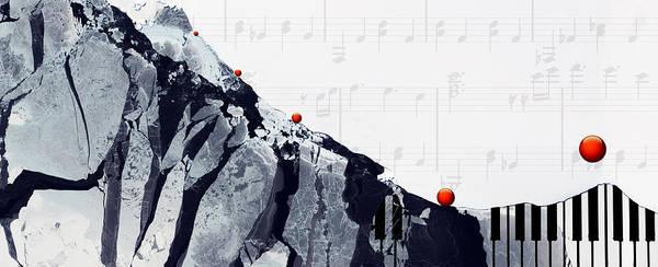 Painting - Fantasia - Piano Art By Sharon Cummings by Sharon Cummings