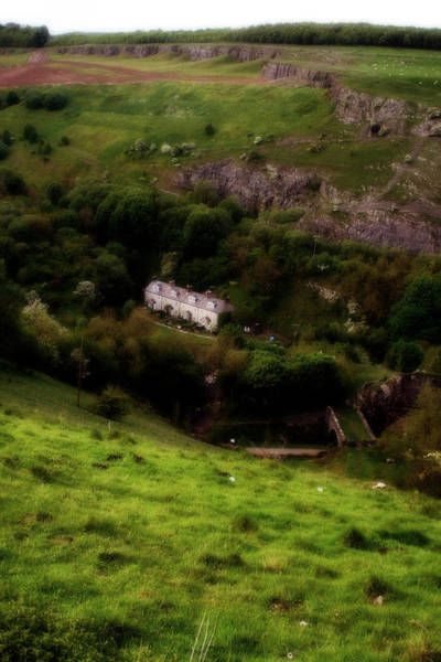 Photograph - Farm Land In The Peak District In Great Britain by Doc Braham