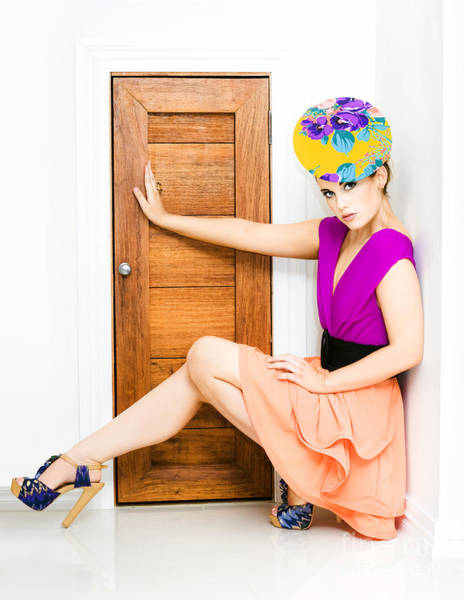 Photograph - Fashion Police Blocking Doorway by Jorgo Photography - Wall Art Gallery