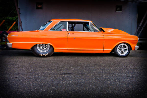 Photograph - Fast Orange by Jeff Sinon